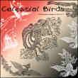 中国古代神话传说凤凰、神鸟、神禽图腾印花图案Photoshop笔刷素材
