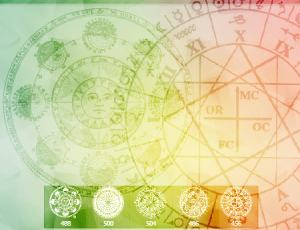 5个魔法阵、魔法图案、宗教符号Photoshop笔刷素材