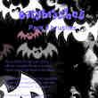 万圣节可爱卡通蝙蝠造型PS美图笔刷