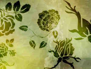 漂亮的玫瑰花纹图案、印花图案Photoshop花纹笔刷素材