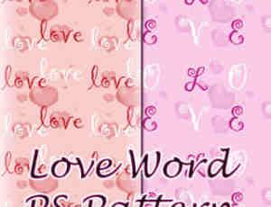 情人节爱情纹理素材PS底纹填充素材免费下载