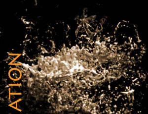 粘性液体喷溅、挥洒的流质液体、浓浊液hotoshop笔刷素材下载