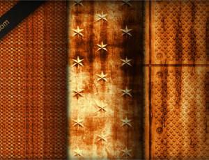 复古锈迹斑斑的铁锈纹理背景PS年代岁月纹理填充素材