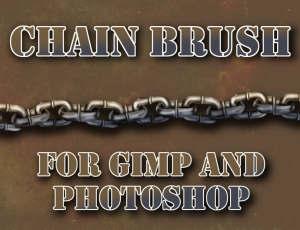 锁链、链条、铁链PS笔刷素材下载
