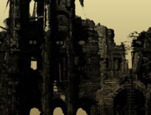 古迹废墟、建筑残垣断壁PS笔刷素材下载