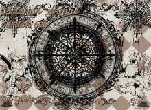 维多利亚时代的花纹艺术图案PS素材笔刷下载