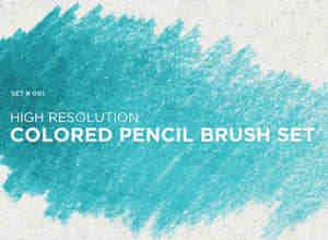蜡笔效果笔刷