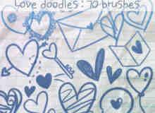 爱涂鸦笔刷