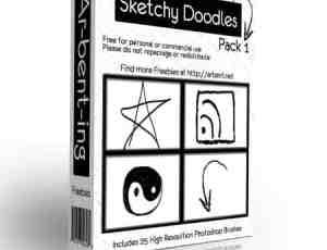 涂鸦笔刷包