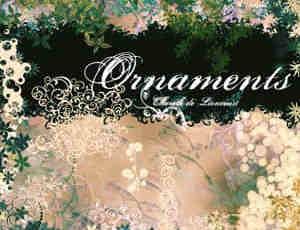 花团锦簇式花园笔刷
