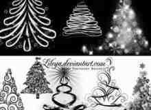 圣诞树笔刷2