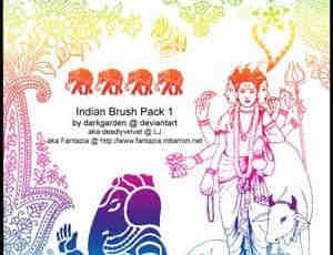 泰国佛教人物笔刷