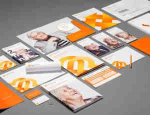 企业文化——一整套公司名片项目报告书宣传册设计参考