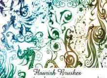 古典贵族式花纹笔刷