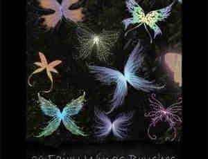 仙女与妖精翅膀笔刷