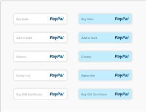 PayPal图标按钮下载