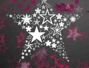 多样式星星符号笔刷