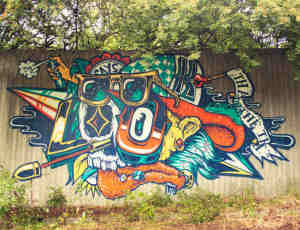 35张墙壁涂鸦文化欣赏