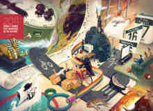 16张精心设计的插画艺术欣赏