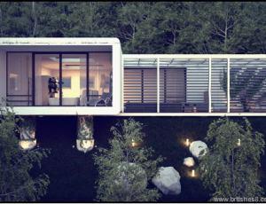 半悬空的克里米亚房屋设计
