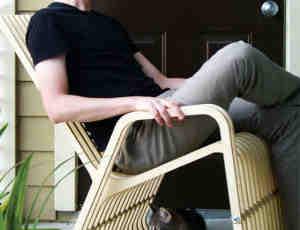 一款创意宠物摇篮椅设计
