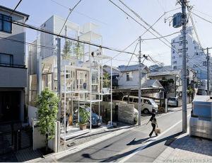 新概念透明办公楼设计