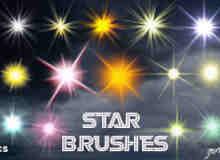 闪烁的星星笔刷