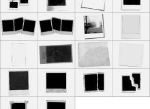 多种拍立得相片相框笔刷