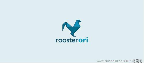 30个以鸡作为蓝本的logo标志设计