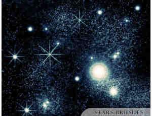 星光点点星空背景刷子