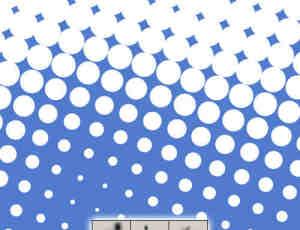 大型圆点背景效果笔刷