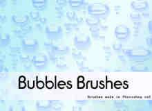 仿真水珠气泡笔刷
