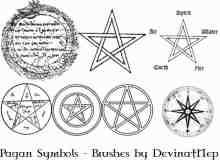 异教组织符号笔刷