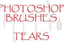 Photoshop眼泪笔刷下载
