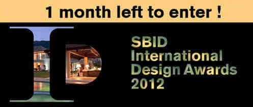SBID国际设计大奖邀请函!