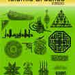 伊斯兰教名族式花纹图案PS笔刷下载