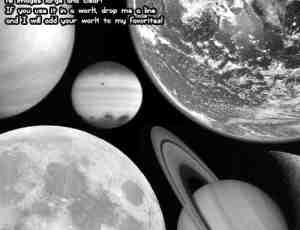 Photoshop行星卫星笔刷