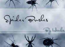 邪恶的蜘蛛笔刷
