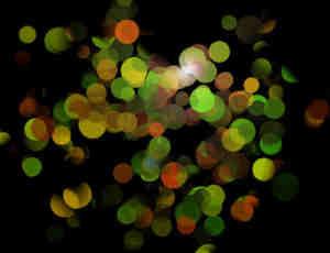 光斑式透明小球笔刷