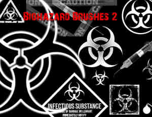 生化危机标志符号笔刷