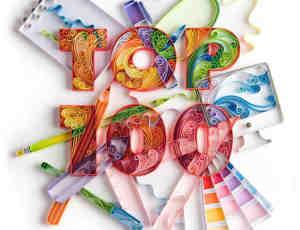 26个立体纸艺术设计排版