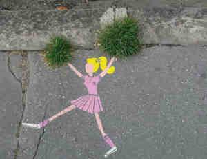 30张有趣的国外街头艺术欣赏