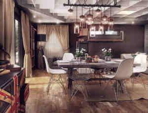 20张复古式豪宅室内设计装潢欣赏