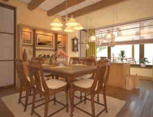 国外私人室内房屋装修设计效果图