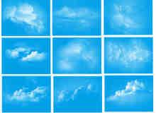 蓝天白云效果笔刷