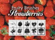 草莓效果图笔刷