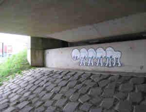 14张创意独特的行为城市涂鸦