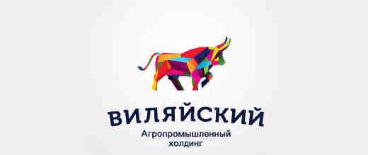 41个创意公牛logo标志设计