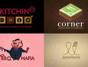 24个美食与餐厅专用型logo标志设计