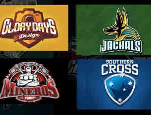 24个体育主题logo设计